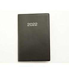 CALENDAR - Kalendarz kieszonkowy - KALENDARZYK 2022 Rok - A7 - A7036B - Czarny