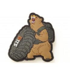 5.11 - Naszywka Crossfit Bear Tactical - 3D PVC