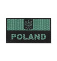 KAMPFHUND Naszywka Polska  Zielony - Gen I A1
