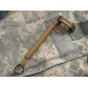 Cetacea Tactical - Smycz QR-Molle™ Mini Coil Tether - Coyote Brown