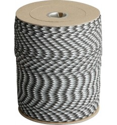 Paracord - MIL-SPEC 550-7 - 4mm - Military Urban Camo - MADE IN USA - 1 metr