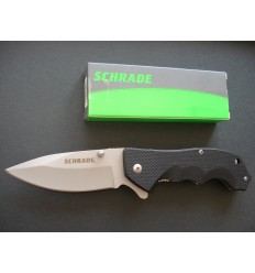 Schrade - Liner Lock Drop Point Folding Knife - SCH109 - Nóż składany
