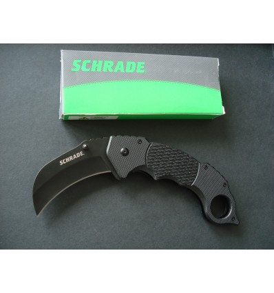 Schrade - Liner Lock Karambit Folding Knife - SCH110 - Nóż składany