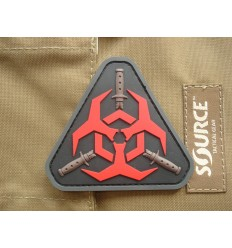 MIL-SPEC MONKEY - Naszywka Outbreak Response Team - PVC - Red