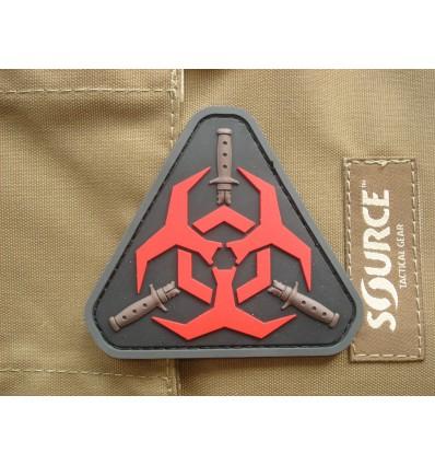 MIL-SPEC MONKEY - Naszywka Outbreak Response Team - PVC - Red