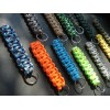MALAMUT - Brelok surwiwalowy do kluczy Gekon - Paracord 1,4m (Made USA) - Military Blue