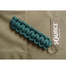 MALAMUT - Brelok surwiwalowy do kluczy Gekon - Paracord 1,4m (Made USA) - Hunter Green