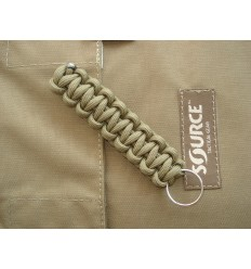 MALAMUT - Brelok surwiwalowy do kluczy Gekon - Paracord 1,4m (Made USA) - Coyote Brown