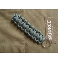 MALAMUT - Brelok surwiwalowy do kluczy Gekon - Paracord 1,4m (Made USA) - Foliage Green