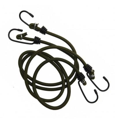 Fosco - Elastyczna lina / guma Bungee - Zielony OD